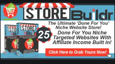 StoreBuildr 25 Niche Websites #2