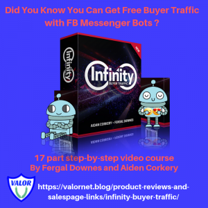 Infinity Buyer Traffic Canva ad