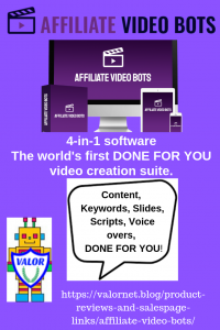 Affiliate Video Bots Canva ad