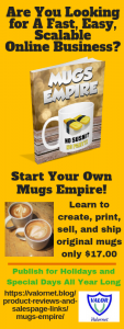 Mugs Empire banner