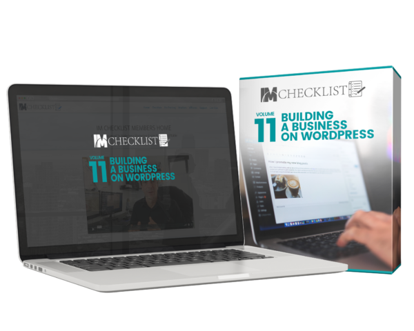 IMChecklist 11 Building a Business With WordPress