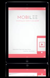 Mobilee phone logo