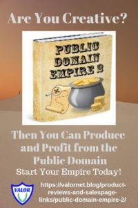 Public Domain Empire, P,Canva ad