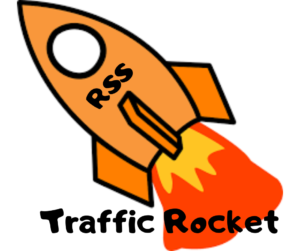 RSS Traffic Rocket Logo