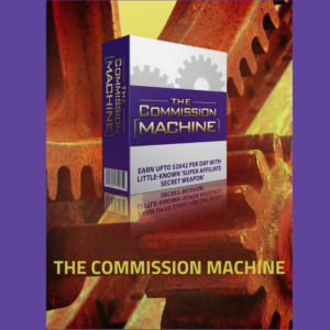 The commission Machine banner