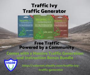 Traffic Ivy banner