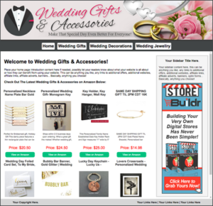 Wedding Gifts and Accessories