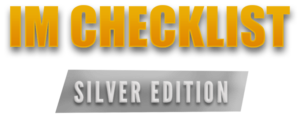 IMChecklist Book: Silver Edition Logo