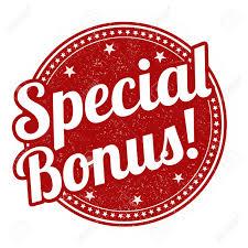 Special bonus logo