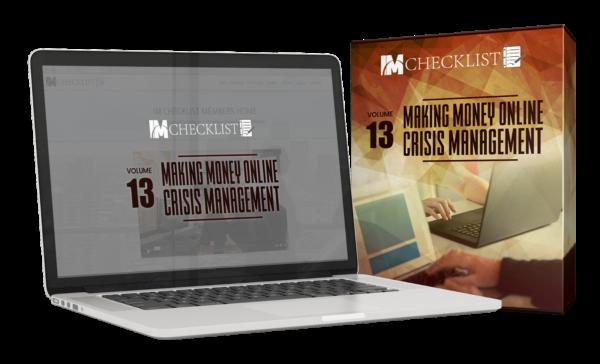 Check Out IMChecklist Volume 13: Crisis Management HERE!